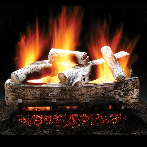 "Fireside 24"" Mountain Aspen Vented Gas Logs - Convertible Safety Pilot, LP at Sears.com"