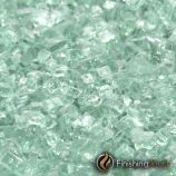 "1 Pound Bag of 1/4"" Emerald Green Fireglass"