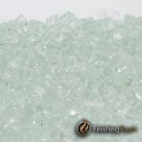 "8 Pound Container of 1/4"" Icy Mint Fireglass"