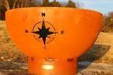 """Navigator Fire Pit Bowl NAV 36"""" Diameter By Firepit Art"""