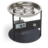 HPC Fire DS25-ROUND Steel Display Stand for indoor display