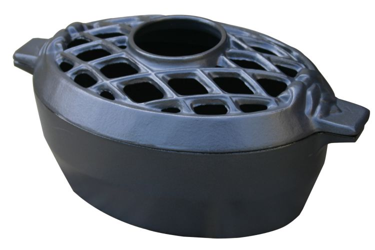 Black Matte Lattice Steamer By John Wright Hearth