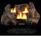 "Tupelo 2 Vent Free 24"" Gas Logs with Millivolt Control - LP"