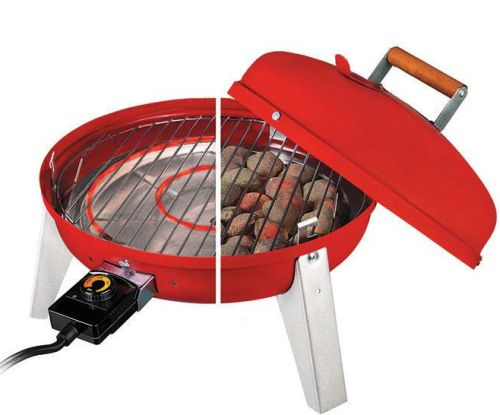 The Wherever Electric Grill - Red