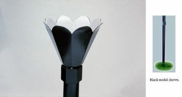 Black In-Ground Lamp Installation Kit 26000 BTU - Propane Gas