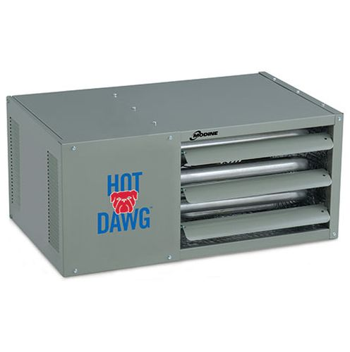 75K SS Double Stage Hot Dawg Garage Power Vented Blower Unit - NG