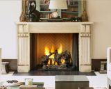 """36"""" Ashland Radiant Wood Burning Fireplace w/Traditional Brick Panel"""