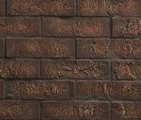 "Monessen 42"" Brick Interior panel in Cottage Red for Quartz Fireplace"