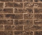 "42"" Traditional Interior Brick Panel in Brown for Meridian Fireplaces"