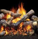 """Monessen 30"""" Fireside Grand Oak Log Set w/Match Lit Hearth Kit - NG"""