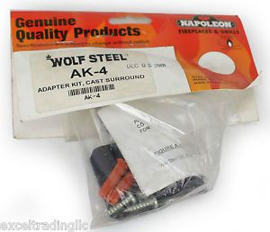 Napoleon AK-4 Adaptor Kit for Cast Iron Surround