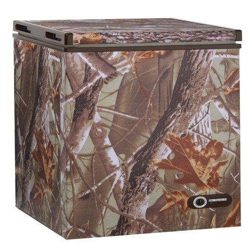 Avanti 5.2 Cf Chest Freezer With Camouflage Wrapped Exterior at Sears.com