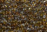 Outdoor GreatRoom Amber Tempered Fire Glass Gems - 5lb Container