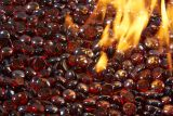 Ruby Tempered Fire Glass Gems