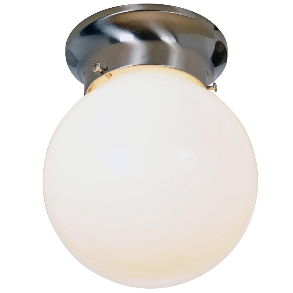 Premier 4 Pack Of Globe 6 inch Ceiling Fixture - Brushed Nickel