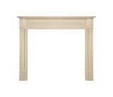 "The Williamsburg 48"" Fireplace Mantel - Unfinished"