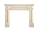 "The Classique 56"" Fireplace Mantel - Unfinished"
