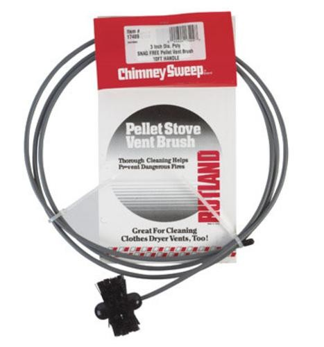 "Rutland Pellet Stove or Dryer Vent Brush with 20 foot Flexible Handle - 4"" at Sears.com"