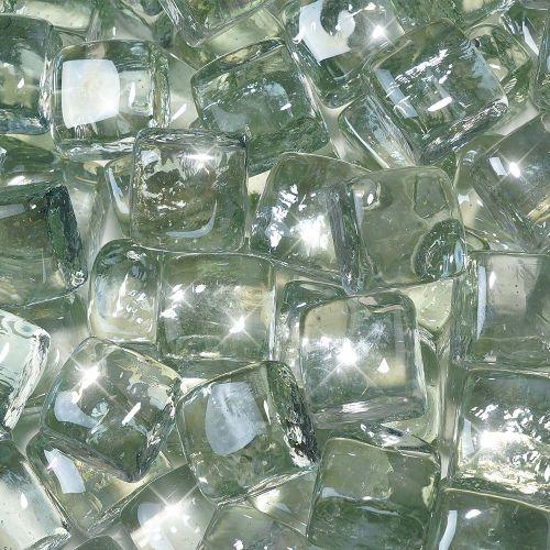 "10 lbs. Fire Diamond 1"" Clear Reflective Fire Glass"
