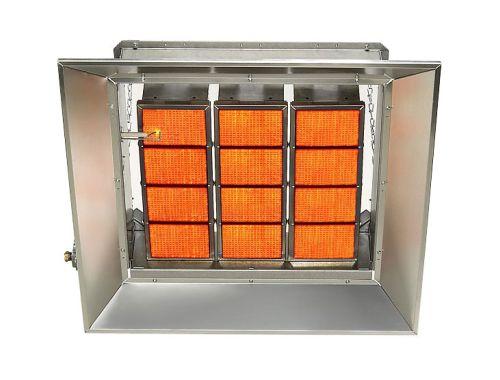 Starglo Infrared Ceramic Heaters, 80K Btu, Natural Gas, Direct Spark