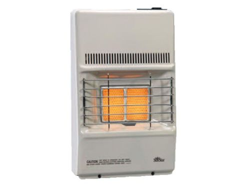Thermostat Control 9500 BTU Infrared Radiant NG Vent Free Heater