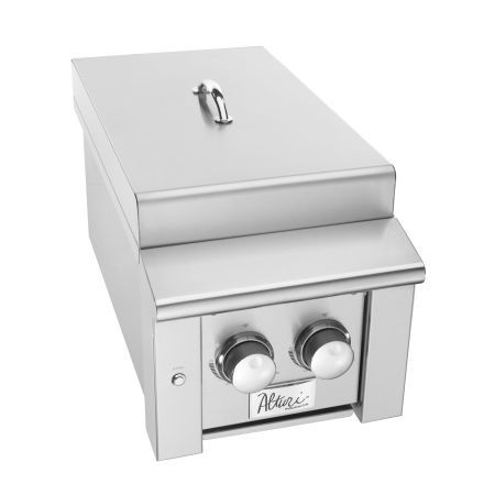 Summerset Grills Alturi Double Stainless Steel Propane Side Burner at Sears.com
