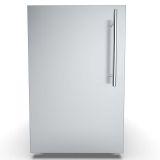 "15"" Single Left Swing Door Dry Storage Pantry w/Shelf and Legs"