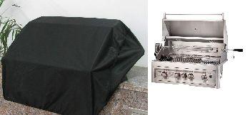Waterproof & Weatherproof Cover for 4-Burner Unit