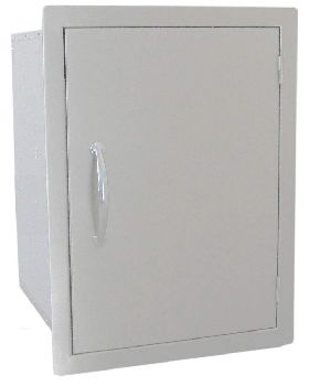 "24"" X 17"" Vertical Dry Storage Pantry with Shelf"