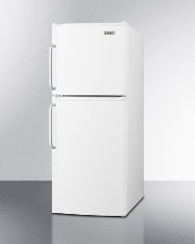 Summit Toys Energy Star Qualified Two-Door Refrigerator-Freezer - White