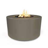 "42"" x 24"" Florence Electronic Ignition Fire Table in Ash - LP"