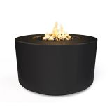 "42"" x 24"" Florence Electronic Ignition Fire Table in Black - LP"