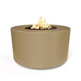 "42"" x 24"" Florence Electronic Ignition Fire Table in Brown - LP"