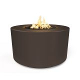"42"" x 24"" Florence Electronic Ignition Fire Table in Chocolate - LP"