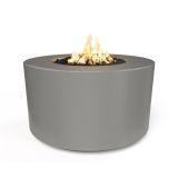 "42"" x 24"" Florence Electronic Ignition Fire Table in Natural Gray - LP"