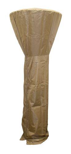 Tall Heater Heavy Duty Waterproof Cover - Dark Brown/Mocha