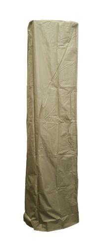 Square Glass Tube Heavy Duty Waterproof Cover - Dark Brown/Mocha