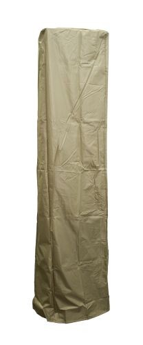 Square Glass Tube Heavy Duty Waterproof Cover - Tan
