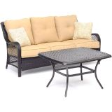 Hanover ORL2PCCT-TAN Orleans 2-Piece Patio Set in Sahara Sand