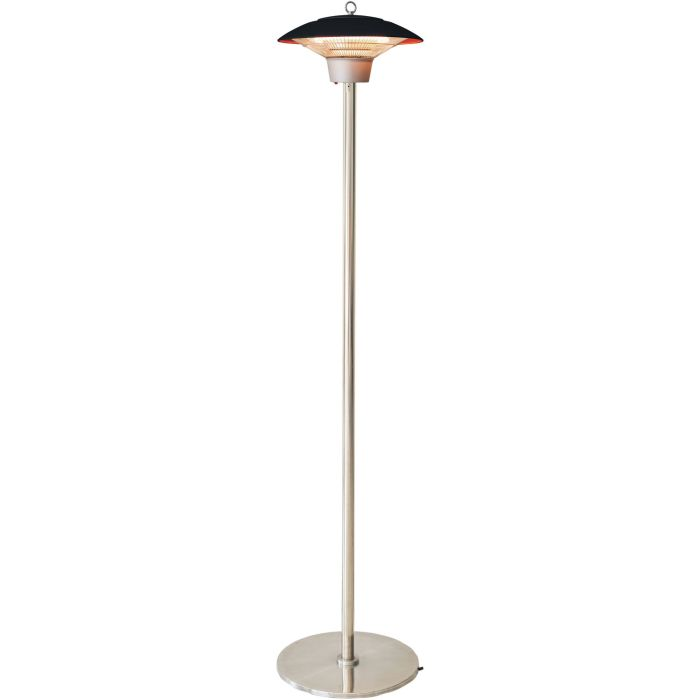 Hanover Electric Halogen Infrared Stand Heat Lamp - Black