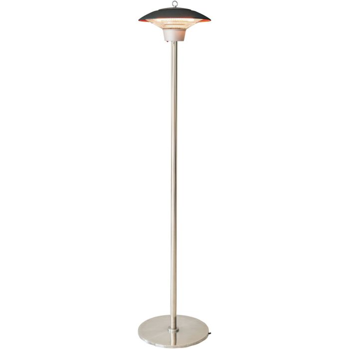 Hanover Electric Halogen Infrared Stand Heat Lamp - Brown