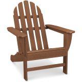 Classic All-Weather Adirondack Chair in Teak