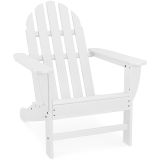 Classic All-Weather Adirondack Chair in White