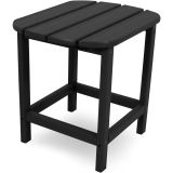 All-Weather Side Table in Black