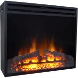 "28"" Freestanding 5116 BTU Electric Fireplace Heater Insert with Remote"