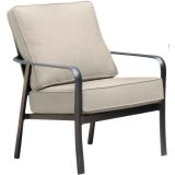 Cortino Aluminum Club Chair with Plush Sunbrella Cushions