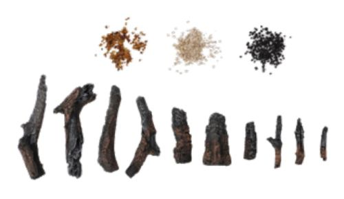 Amantii 10 Piece Oak Log Set Designer Media Kit