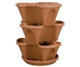 Stack-A-Pot Mini Resin Stackable Planter