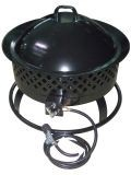 Arett B07-66603 Aurora Portable Gas Steel Fire Bowl