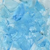 Crystal Turquoise Small Landscape Glass - 1 Lbs